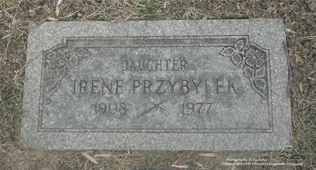 PRZYBYLEK, IRENE - Lucas County, Ohio | IRENE PRZYBYLEK - Ohio Gravestone Photos