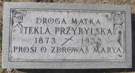 MRUK PRZYBYLSKA, TEKLA - Lucas County, Ohio | TEKLA MRUK PRZYBYLSKA - Ohio Gravestone Photos