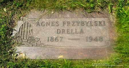 PRZYBYLSKI DRELLA, AGNES - Lucas County, Ohio   AGNES PRZYBYLSKI DRELLA - Ohio Gravestone Photos