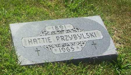 PRZYBYLSKI, HATTIE - Lucas County, Ohio | HATTIE PRZYBYLSKI - Ohio Gravestone Photos