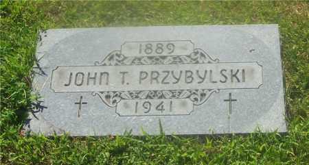 PRZYBYLSKI, JOHN T. - Lucas County, Ohio | JOHN T. PRZYBYLSKI - Ohio Gravestone Photos