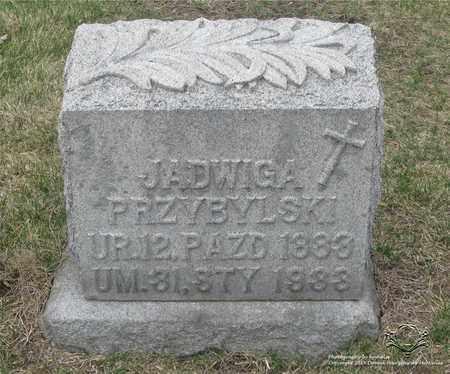 KRZYZANIAK PRZYBYLSKI, JADWIGA - Lucas County, Ohio | JADWIGA KRZYZANIAK PRZYBYLSKI - Ohio Gravestone Photos