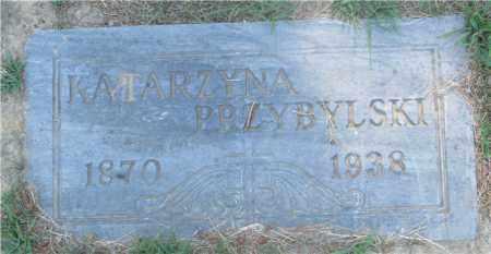 PRZYBYLSKI, KATARZYNA - Lucas County, Ohio   KATARZYNA PRZYBYLSKI - Ohio Gravestone Photos