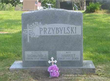 PRZYBYLSKI, SIGMUND J. - Lucas County, Ohio | SIGMUND J. PRZYBYLSKI - Ohio Gravestone Photos