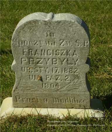 PRZYBYLY (PRZYBYLA), FRANCISZK A. - Lucas County, Ohio | FRANCISZK A. PRZYBYLY (PRZYBYLA) - Ohio Gravestone Photos