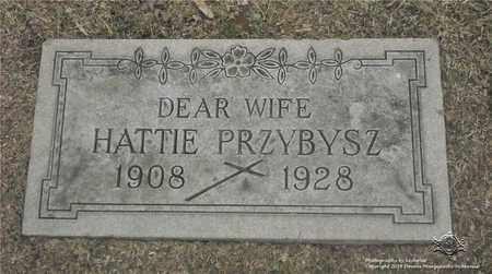 PRZYBYSZ, HATTIE - Lucas County, Ohio | HATTIE PRZYBYSZ - Ohio Gravestone Photos