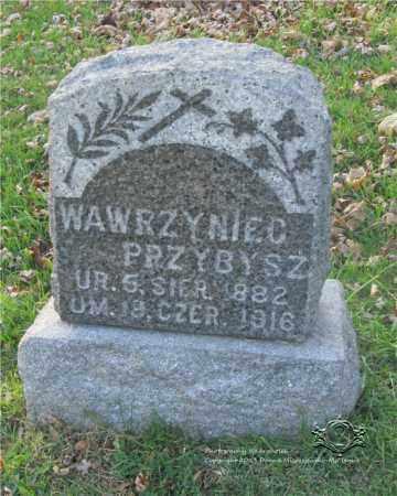 PRZYBYSZ, WAWRZYNIEC - Lucas County, Ohio | WAWRZYNIEC PRZYBYSZ - Ohio Gravestone Photos
