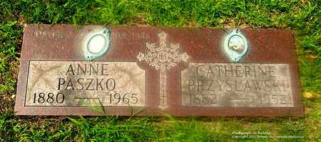PASZKO, ANNE - Lucas County, Ohio | ANNE PASZKO - Ohio Gravestone Photos