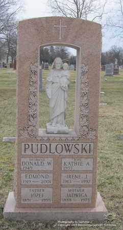 PUDLOWSKI, EDMOND - Lucas County, Ohio | EDMOND PUDLOWSKI - Ohio Gravestone Photos