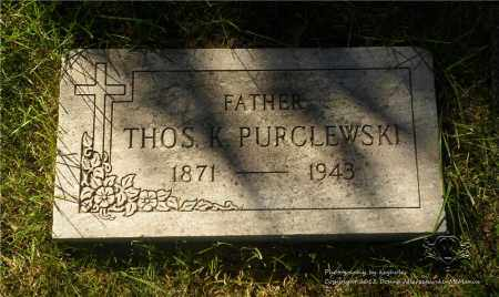 PURCEL, THOMAS - Lucas County, Ohio | THOMAS PURCEL - Ohio Gravestone Photos
