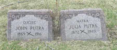 WEGLERSKI PUTRA, JULIA - Lucas County, Ohio | JULIA WEGLERSKI PUTRA - Ohio Gravestone Photos