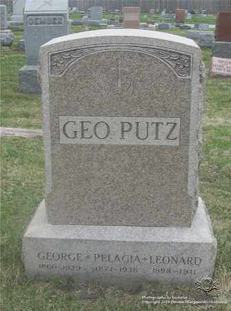 PUTZ, GEORGE - Lucas County, Ohio | GEORGE PUTZ - Ohio Gravestone Photos