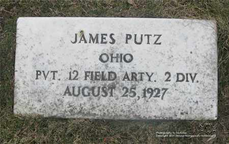 PUTZ, JAMES - Lucas County, Ohio | JAMES PUTZ - Ohio Gravestone Photos