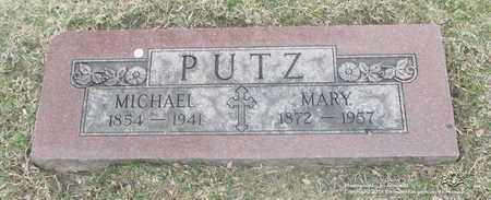 PUTZ, MARY - Lucas County, Ohio | MARY PUTZ - Ohio Gravestone Photos