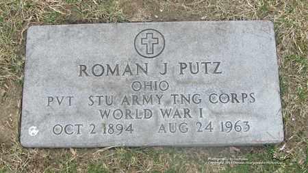 PUTZ, ROMAN J. - Lucas County, Ohio | ROMAN J. PUTZ - Ohio Gravestone Photos