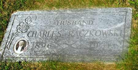 RACZKOWSKI, CHARLES - Lucas County, Ohio | CHARLES RACZKOWSKI - Ohio Gravestone Photos