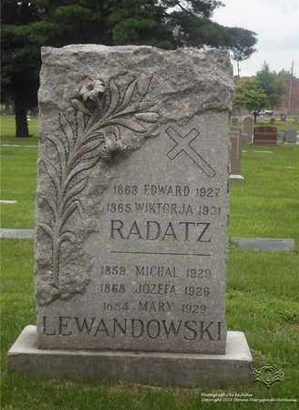 HELWIG RADATZ, WIKTORJA - Lucas County, Ohio | WIKTORJA HELWIG RADATZ - Ohio Gravestone Photos