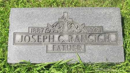 RANCICH, JOSEPH C. - Lucas County, Ohio | JOSEPH C. RANCICH - Ohio Gravestone Photos