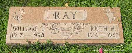 RAY, WILLIAM C. - Lucas County, Ohio | WILLIAM C. RAY - Ohio Gravestone Photos