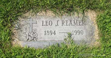 REAMER, LEO J. - Lucas County, Ohio | LEO J. REAMER - Ohio Gravestone Photos