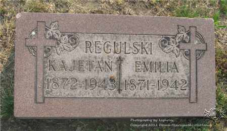 REGULSKI, EMILIA - Lucas County, Ohio | EMILIA REGULSKI - Ohio Gravestone Photos