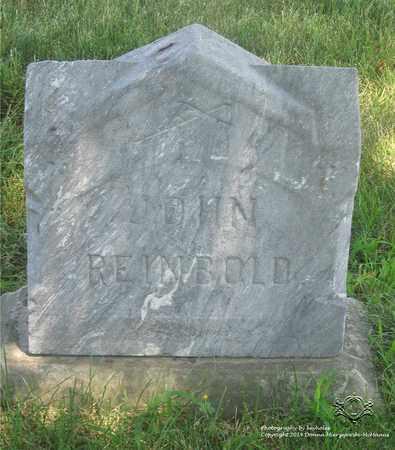 REINBOLD, JOHN - Lucas County, Ohio | JOHN REINBOLD - Ohio Gravestone Photos