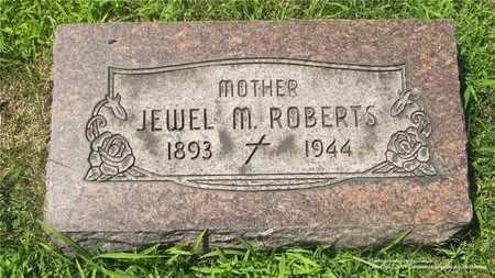 ROBERTS, JEWEL M. - Lucas County, Ohio | JEWEL M. ROBERTS - Ohio Gravestone Photos