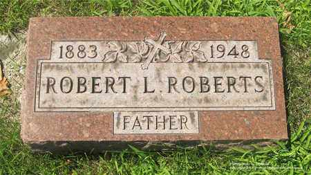 ROBERTS, ROBERT L. - Lucas County, Ohio | ROBERT L. ROBERTS - Ohio Gravestone Photos