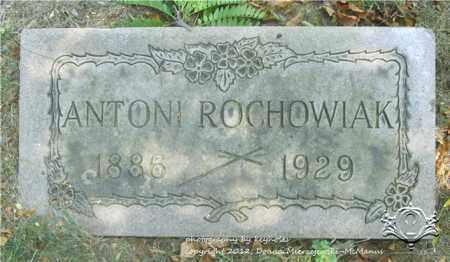ROCHOWIAK, ANTONI - Lucas County, Ohio | ANTONI ROCHOWIAK - Ohio Gravestone Photos