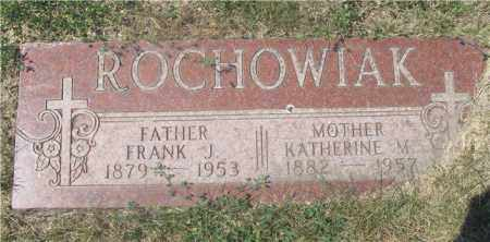 ROCHOWIAK, KATHERINE M. - Lucas County, Ohio | KATHERINE M. ROCHOWIAK - Ohio Gravestone Photos