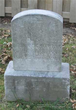 ROCHOWIAK, LEON - Lucas County, Ohio | LEON ROCHOWIAK - Ohio Gravestone Photos