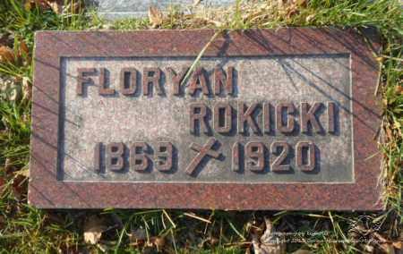 ROKICKI, FLORYAN - Lucas County, Ohio | FLORYAN ROKICKI - Ohio Gravestone Photos
