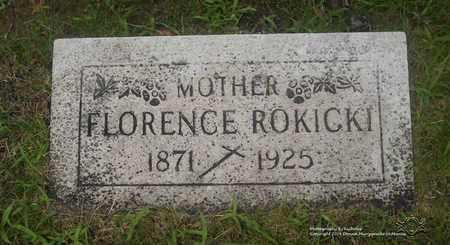 ROKICKI, FLORENCE - Lucas County, Ohio | FLORENCE ROKICKI - Ohio Gravestone Photos