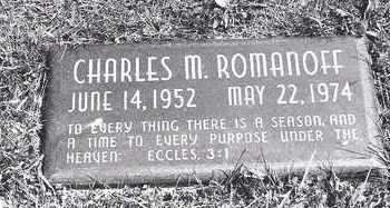 ROMANOFF, CHARLES - Lucas County, Ohio | CHARLES ROMANOFF - Ohio Gravestone Photos