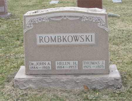 ROMBKOWSKI, THOMAS J. - Lucas County, Ohio | THOMAS J. ROMBKOWSKI - Ohio Gravestone Photos