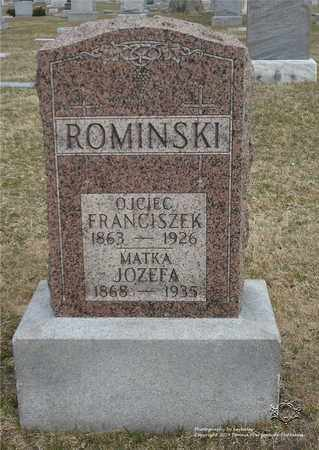 ROMINSKI, FRANCISZEK - Lucas County, Ohio | FRANCISZEK ROMINSKI - Ohio Gravestone Photos