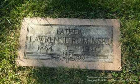 ROMINSKI, LAWRENCE - Lucas County, Ohio | LAWRENCE ROMINSKI - Ohio Gravestone Photos