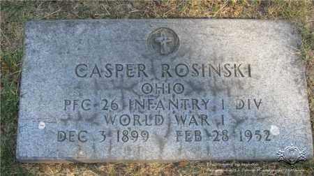 ROSINSKI, CASPER - Lucas County, Ohio | CASPER ROSINSKI - Ohio Gravestone Photos