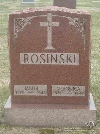 ROSINSKI, VERONICA - Lucas County, Ohio | VERONICA ROSINSKI - Ohio Gravestone Photos