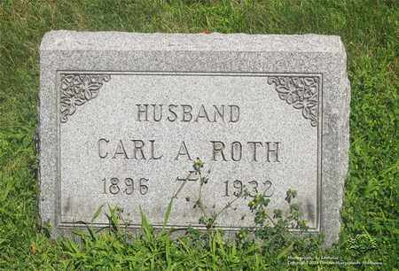 ROTH, CARL A. - Lucas County, Ohio | CARL A. ROTH - Ohio Gravestone Photos