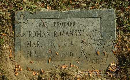 ROZANSKI, ROMAN - Lucas County, Ohio | ROMAN ROZANSKI - Ohio Gravestone Photos