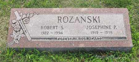 ROZANSKI, ROBERT S. - Lucas County, Ohio | ROBERT S. ROZANSKI - Ohio Gravestone Photos