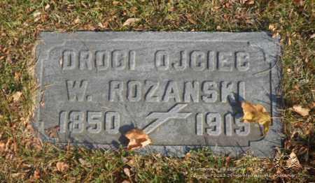 ROZANSKI, W. - Lucas County, Ohio | W. ROZANSKI - Ohio Gravestone Photos