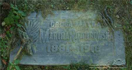 ROZNEROWSKA, MARTHA - Lucas County, Ohio | MARTHA ROZNEROWSKA - Ohio Gravestone Photos