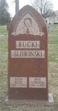 RUCKI, HELEN - Lucas County, Ohio | HELEN RUCKI - Ohio Gravestone Photos