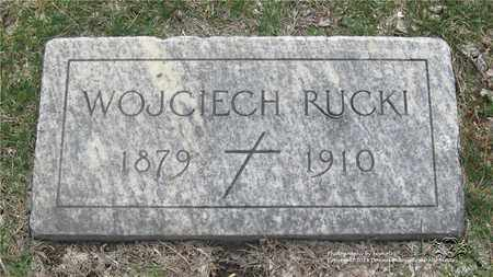 RUCKI, WOJCIECH - Lucas County, Ohio | WOJCIECH RUCKI - Ohio Gravestone Photos