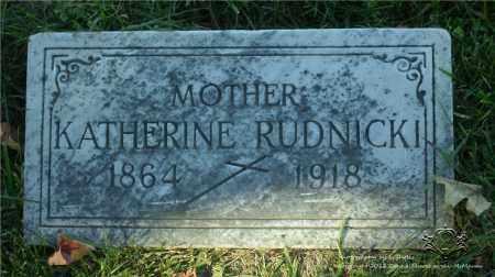 RUDNICKI, KATHERINE - Lucas County, Ohio | KATHERINE RUDNICKI - Ohio Gravestone Photos