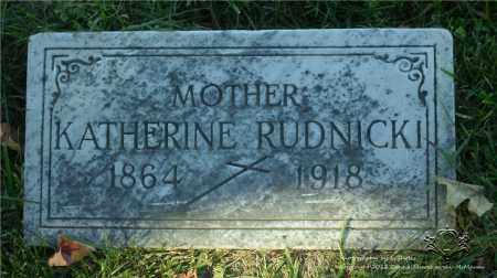JAWORSKI RUDNICKI, KATHERINE - Lucas County, Ohio | KATHERINE JAWORSKI RUDNICKI - Ohio Gravestone Photos