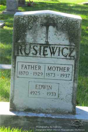 RUSIEWICZ, ANTONINA - Lucas County, Ohio | ANTONINA RUSIEWICZ - Ohio Gravestone Photos