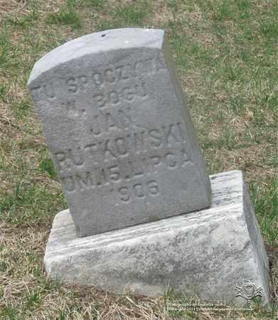 RUTKOWSKI, JAN - Lucas County, Ohio | JAN RUTKOWSKI - Ohio Gravestone Photos